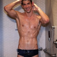 Michael Phelps Speedo Shower