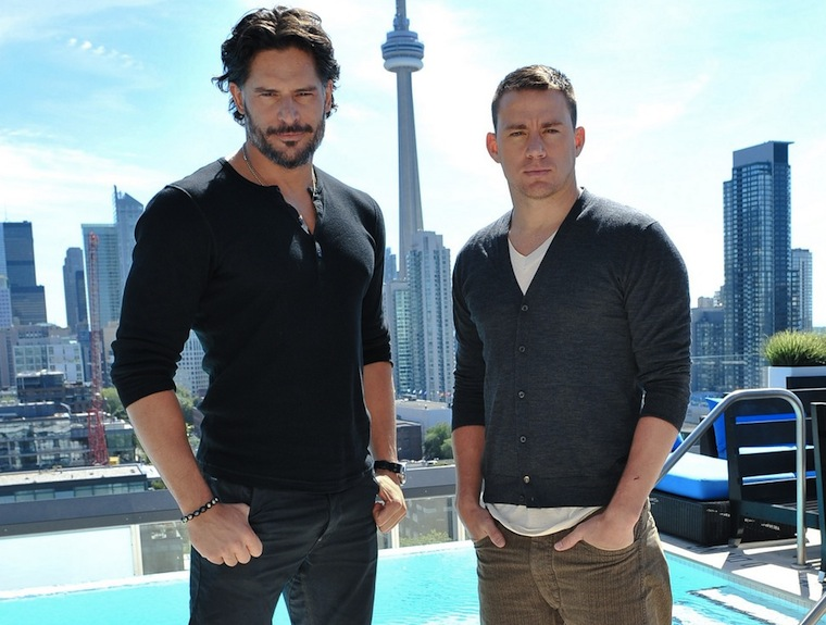 Channing Tatum and Joe Manganiello