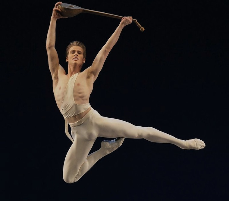 Male ballet dancer bulge