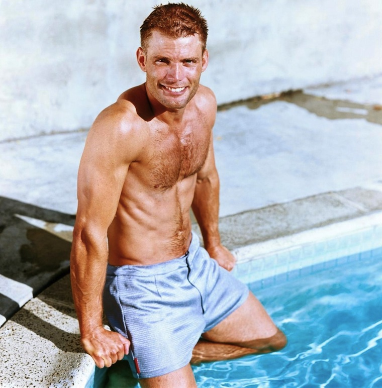 CASPER VAN DIEN, shirtless