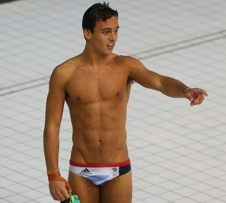 Tom Daley Bulge