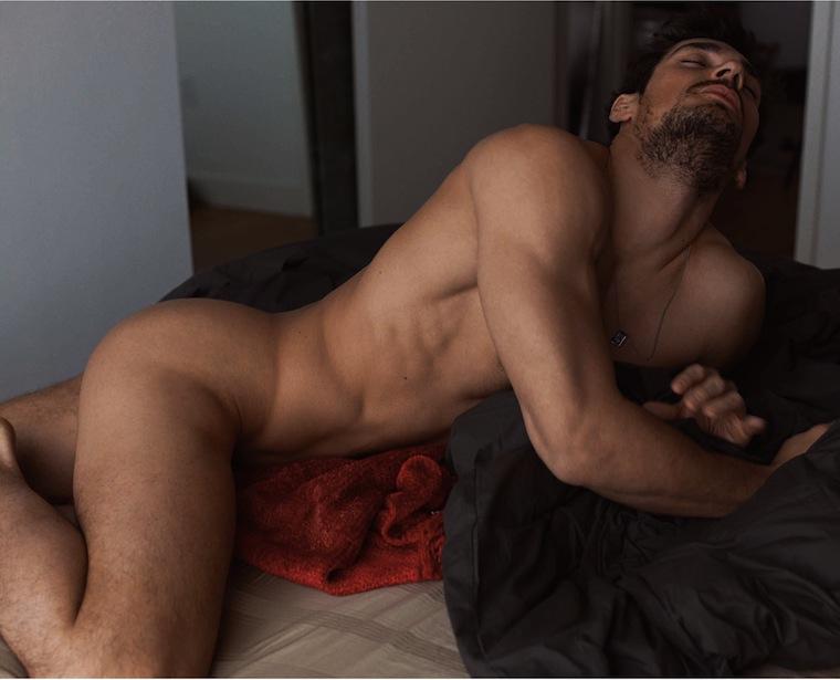 Ass Nude male model