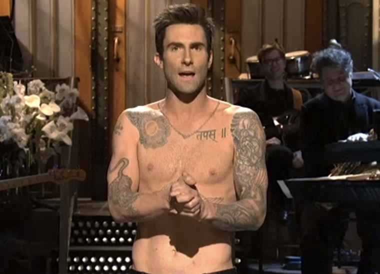 adam levine shirtless 1001