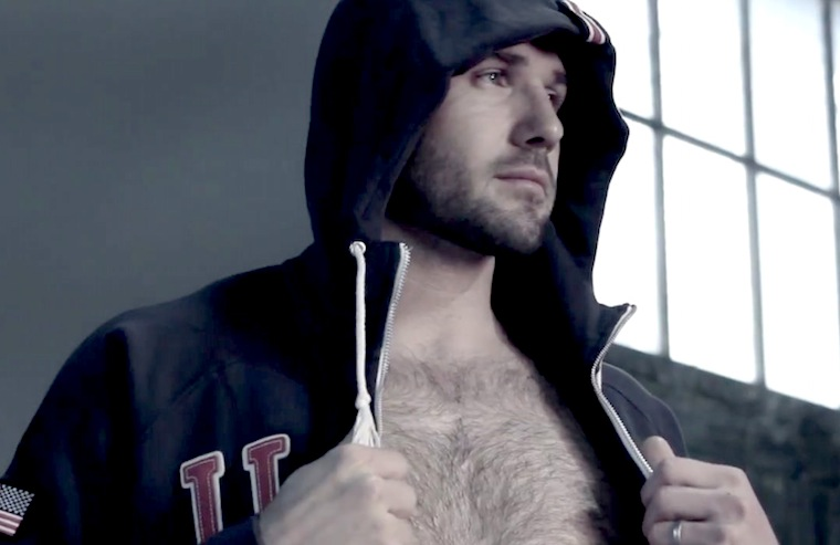gratuitously shirtless good guy ben cohen
