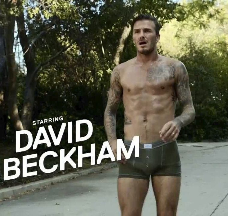 beckham shirtless 101