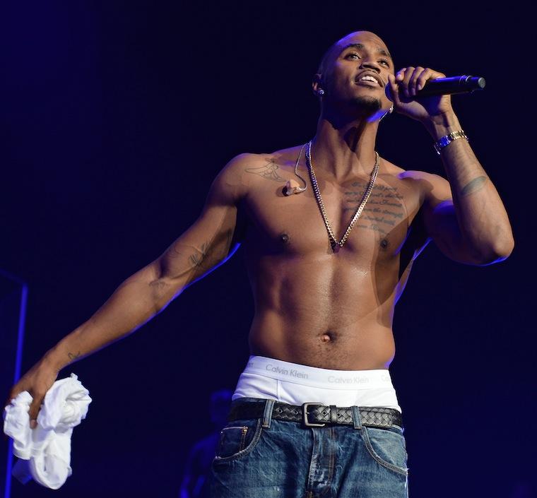 Trey Songs shirtless
