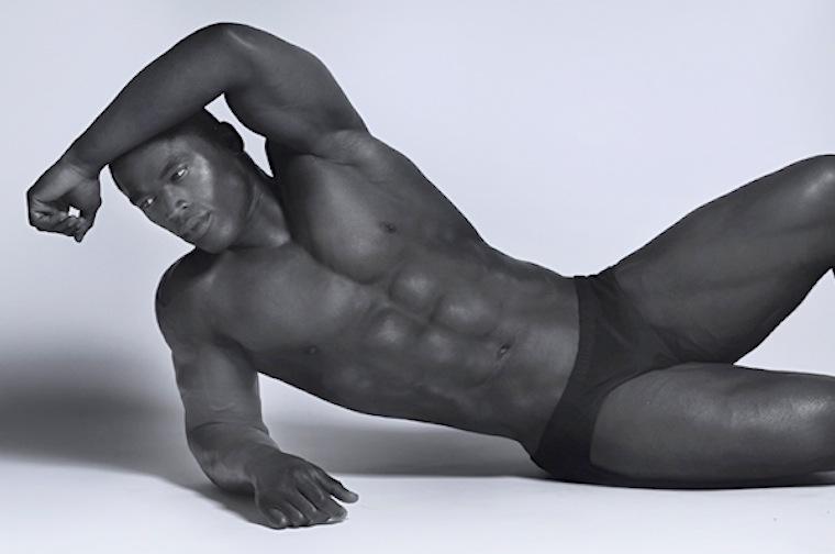 naked Pierre male vuala model black