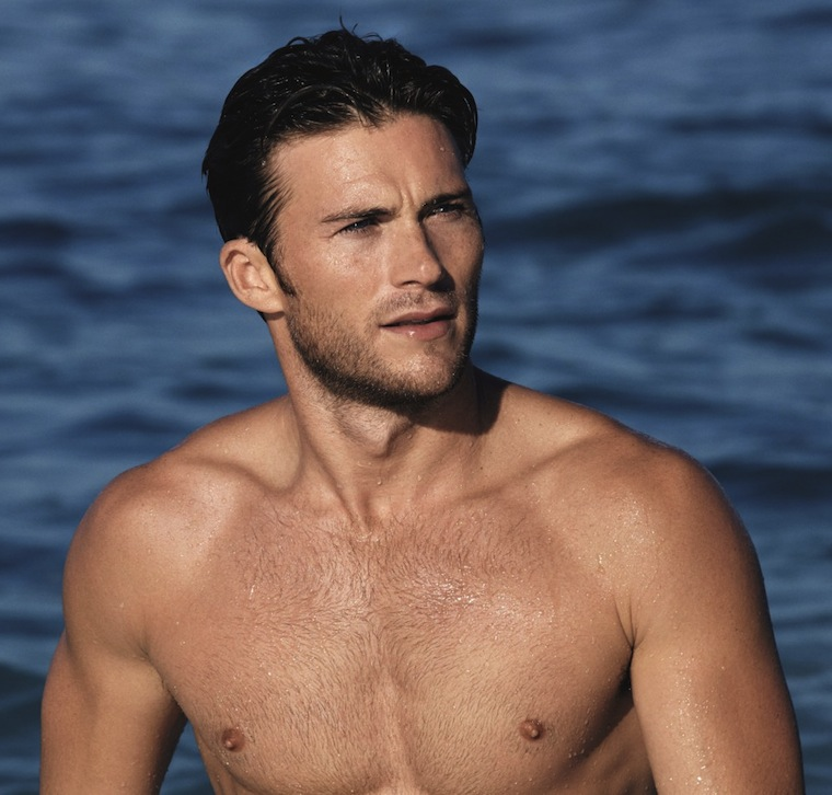 Scott Eastwood shirtless