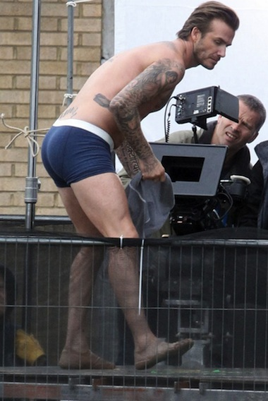 Nacktfotos von David Beckham im Internet - Mediamass