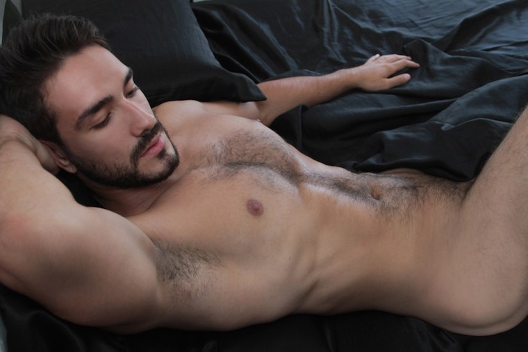gorgeous naked male model