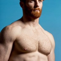 ginger shirtless 001