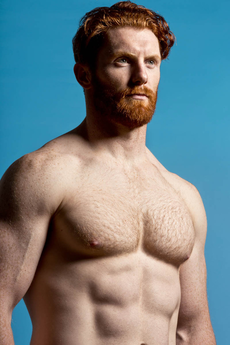 ginger shirtless 001