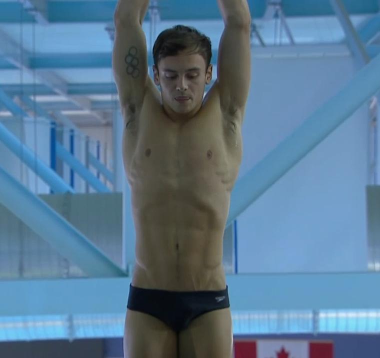 tom daley armpits 101