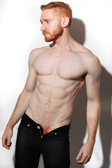 Hot redhead male models perfectly
