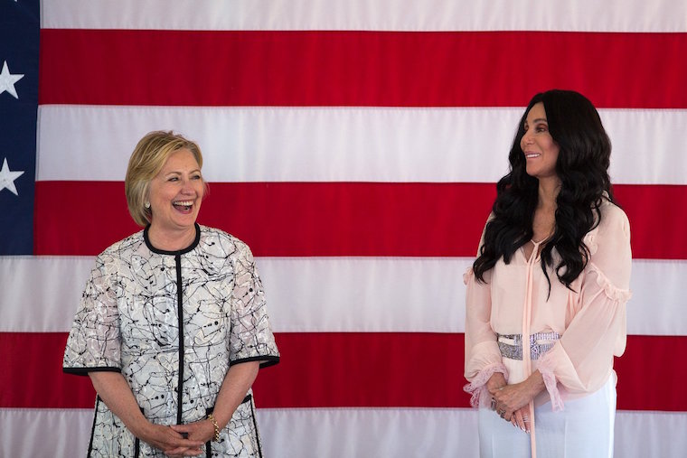 cher and hillary 102