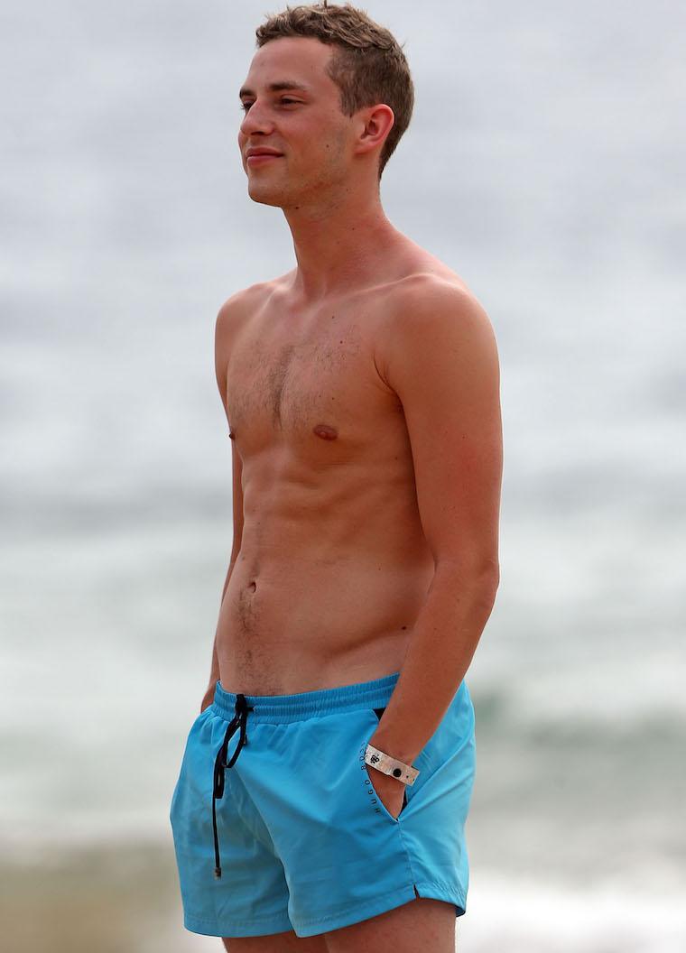 adam rippon shirtless