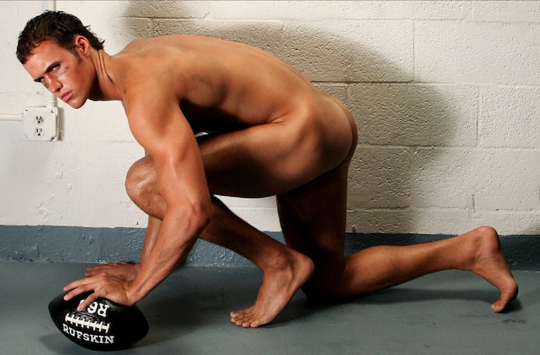 naked male pro athletic