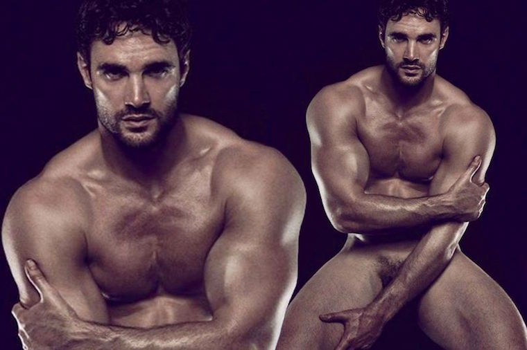 ... marks his official Hunk of the Day crowning. He is an international  rugby union player and appeared on 'Strictly Come Dancing' to squeals of  delight.