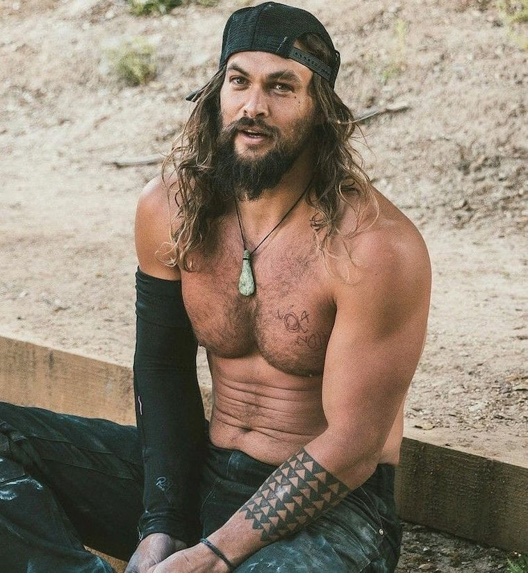 Jason Momoa Tattoos: A Gratuitous Jason Momoa Post