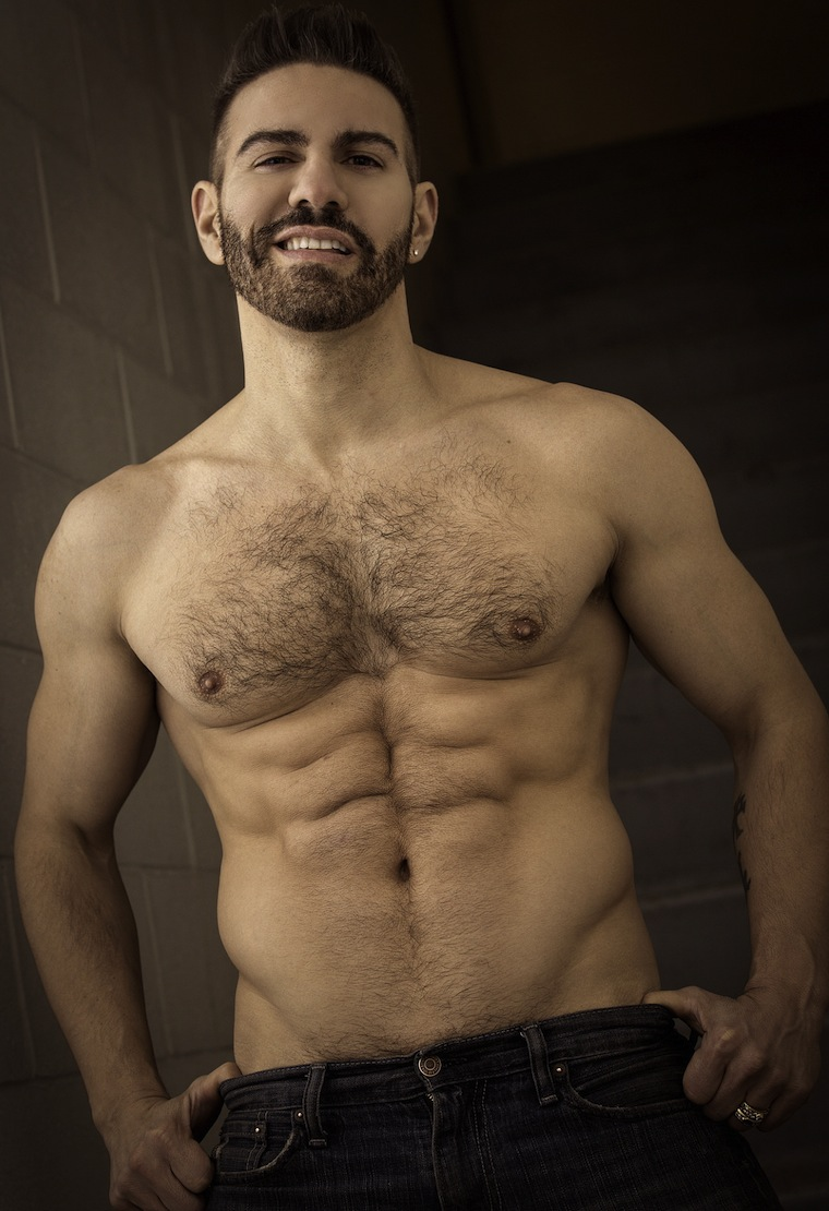 Barefoot hairy chested hunks
